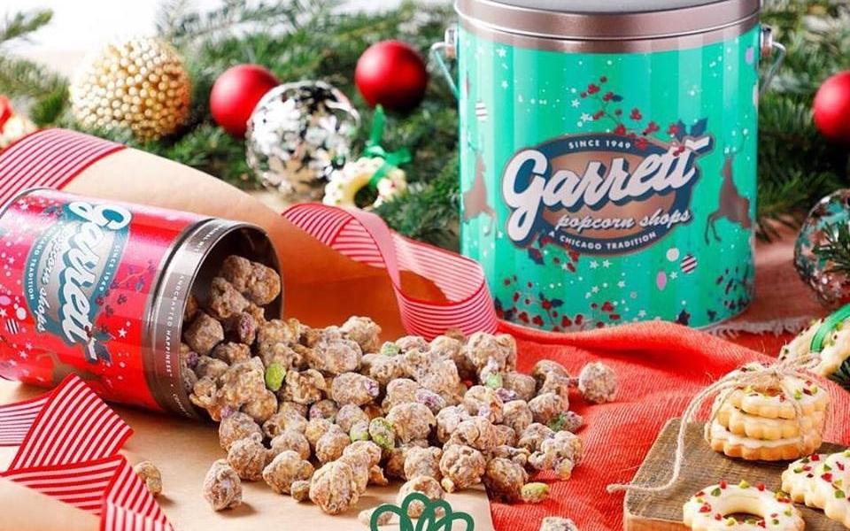 garret popcorn ホワイトチョコクランベリーピスタチオ イメージスタイリング