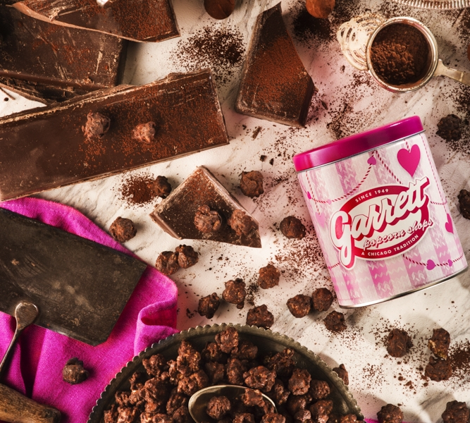 garret popcorn チョコレートトリュフキャラメルクリスプ スタイリング